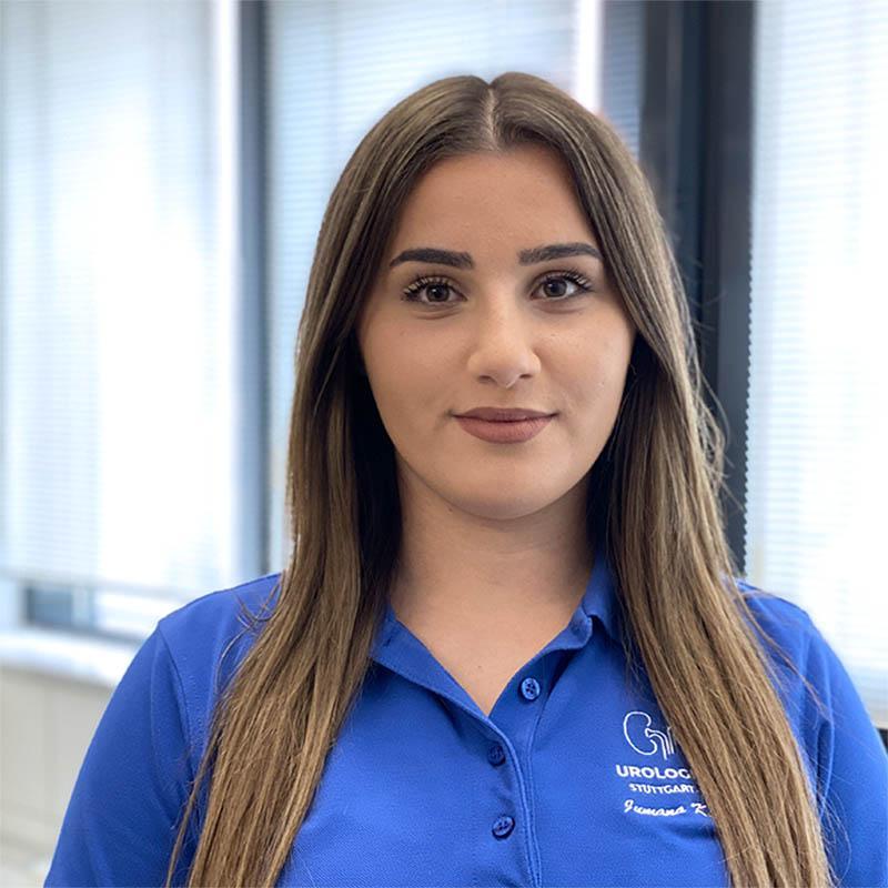Medizinische Fachangestellte: Jumana Khoudr